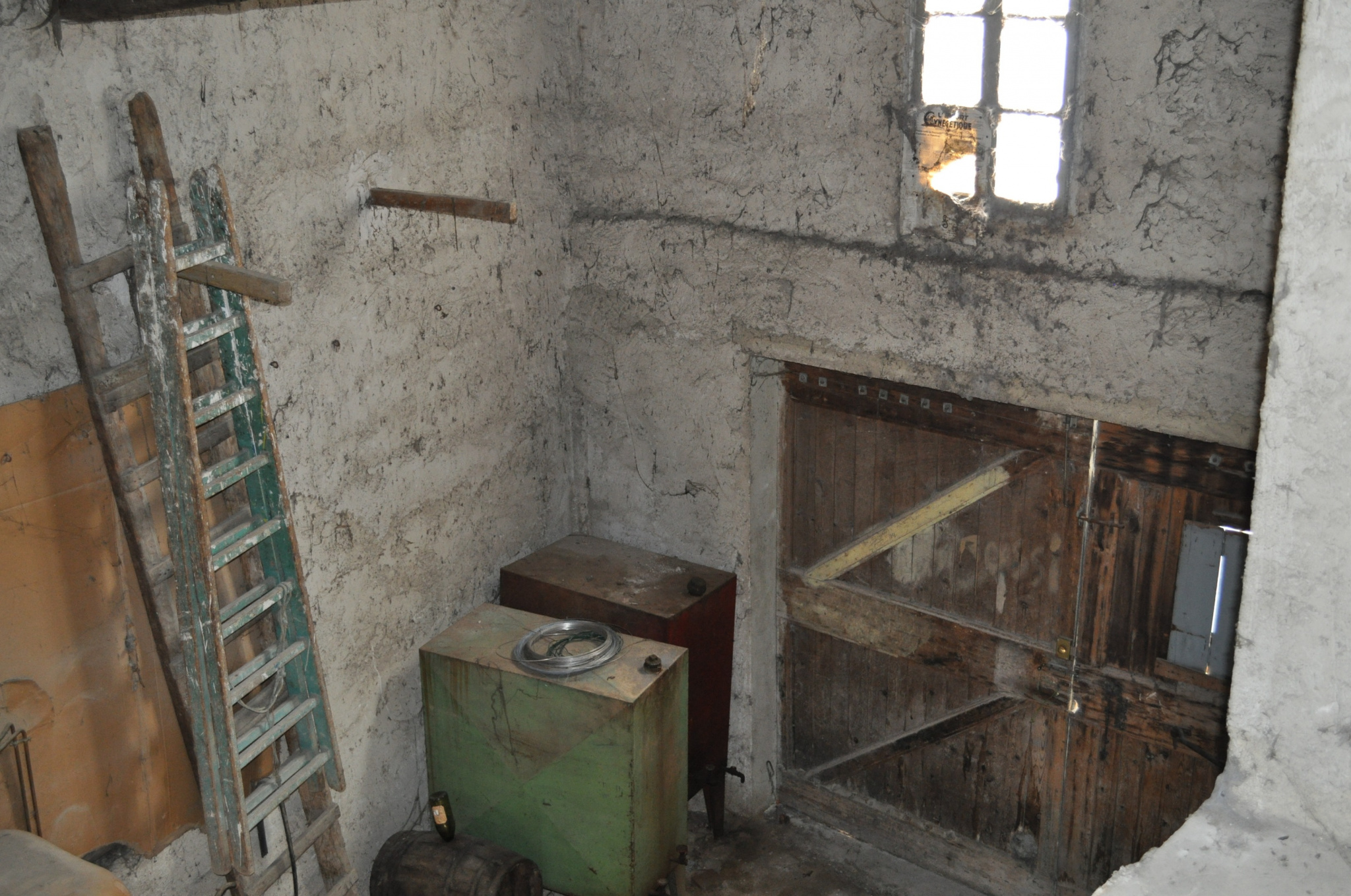 Garage vue du dessus